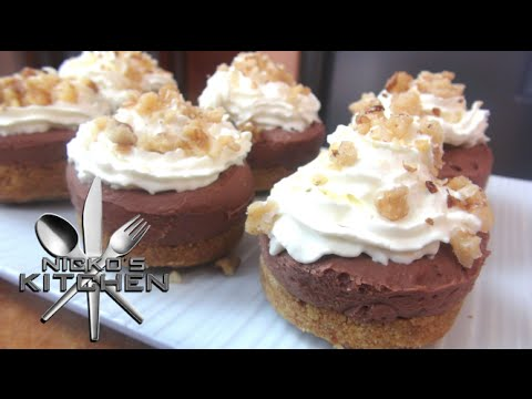 Mini Nutella Cheesecakes - Video Recipe