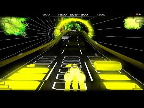 [Audiosurf] Baby & Me - Here Comes The Hotstepper (Evian Version - Yuksek Remix)