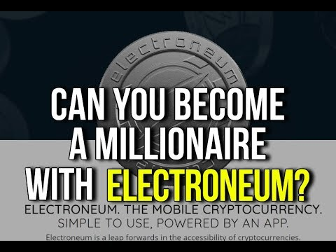 Electroneum Crypto Currency ICO Launch Review Price - Can You Become A Millionaire?