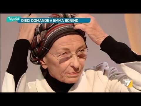 Dieci domande a Emma Bonino