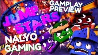 JUMP STARS, PS4 GAMEPLAY (Local Multiplayer Mayhem)