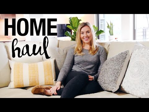 HOME HAUL | West Elm, Crate & Barrel, Target
