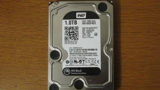 Western Digital 1TB Black SATA3 6.0Gb/s 64MB Cache Hard Drive