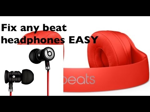 f62747dd81d How to fix beats headphones that only work on one side - YouTube