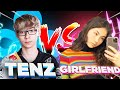 I 1V1'D MY GIRLFRIEND IN VALORANT !!!   C9 TenZ