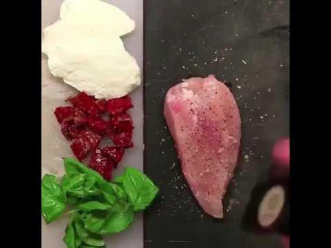 Healthy Recipe- Sun Dried Tomatoes Chicken