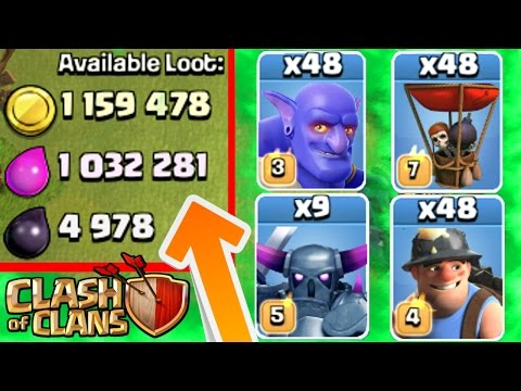 Thumbnail: Clash Of Clans - 1 TROOP MASS CHALLENGE! - Epic CoC Challenge 2016!