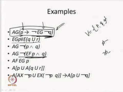 Mod-04 Lec-03 Syntax and Semantics of CTL