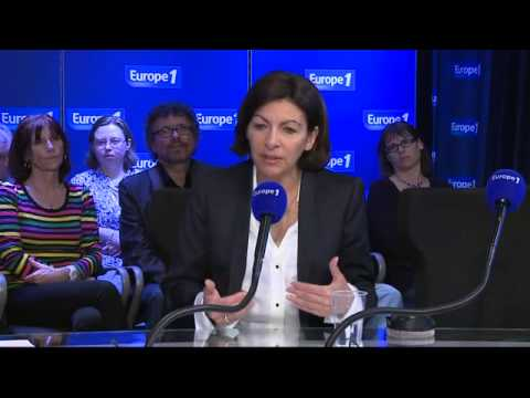 Anne Hidalgo, invitée d'Europe 1
