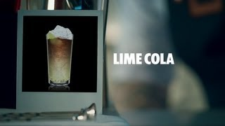 Lime Cola Drink Recipe - How To Mix