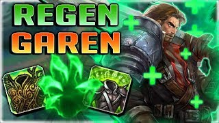 OUTLIVE ANYTHING WITH THIS OP REGEN GAREN BUILD!! NEW REGEN GAREN TOP - Season 8 League of Legends
