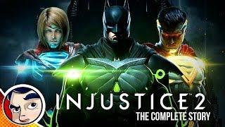 Injustice 2 The Game - Complete Story | Comicstorian смотреть онлайн в хорошем качестве бесплатно - VIDEOOO