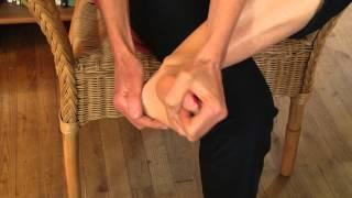 Comment dénouer les tensions du bassin, conseil massage réflexo #2