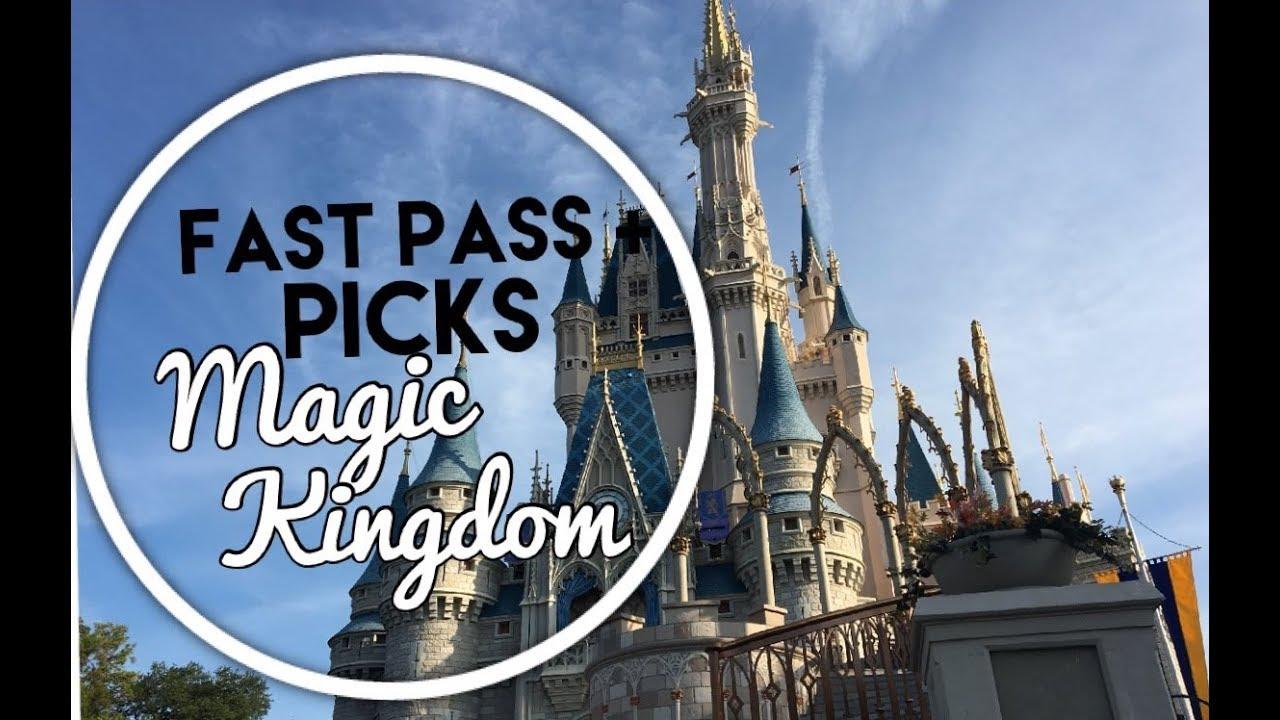 Fast Pass Plus Picks Magic Kingdom| Fastpass Disney World|Disney Trip  Planning