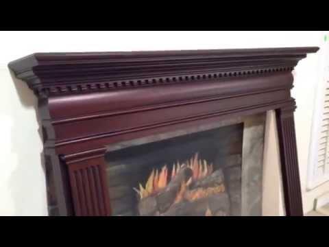 The Hartford Mantel - Custom Mahogany Fireplace Mantel