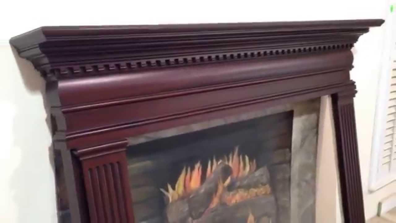 the hartford mantel custom mahogany fireplace mantel youtube