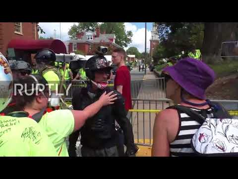 USA: Explosive violence breaks out at Alt-right rally in Charlottesville
