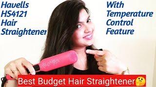 Havells HS4121 Hair Straightener Review I Best Budget Hair Straightener
