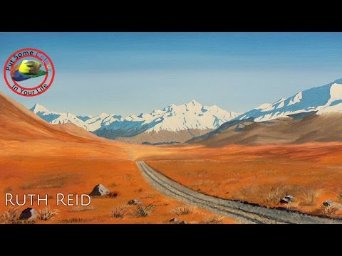 Fine art tips on how to paint with Acrylic with Ruth Reid on Colour In Your Life