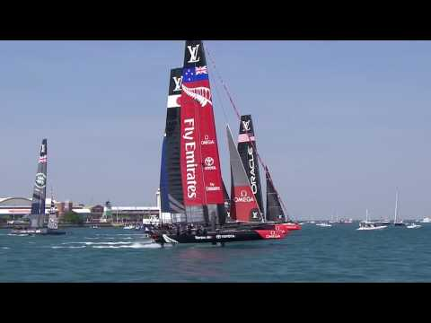 Louis Vuitton America's Cup World Series Chicago - Day 1