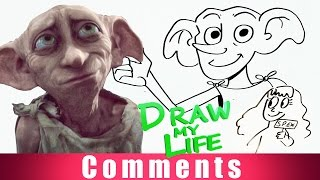 DRAW MY LIFE - Dobby (Harry Potter) COMMENTS
