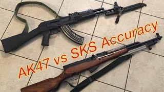 ak47 vs sks accuracy