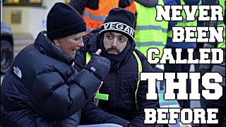 Vegan Activist INSULTED by Reporter