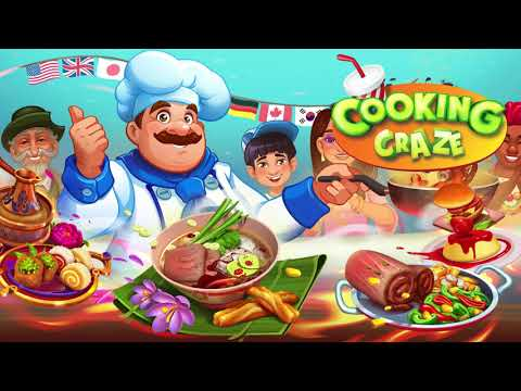 Cooking Craze App Preview Video
