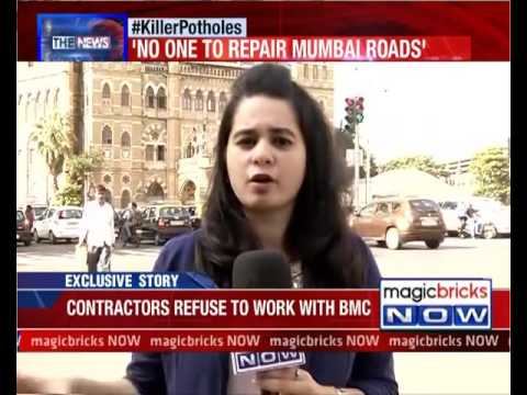 25 contractors refuse to work with BMC for road repair- The News
