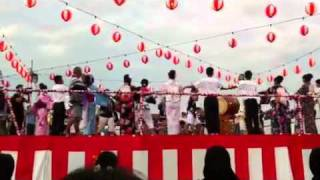 1st Performing Dance - Bon Odori Malaysia 2011