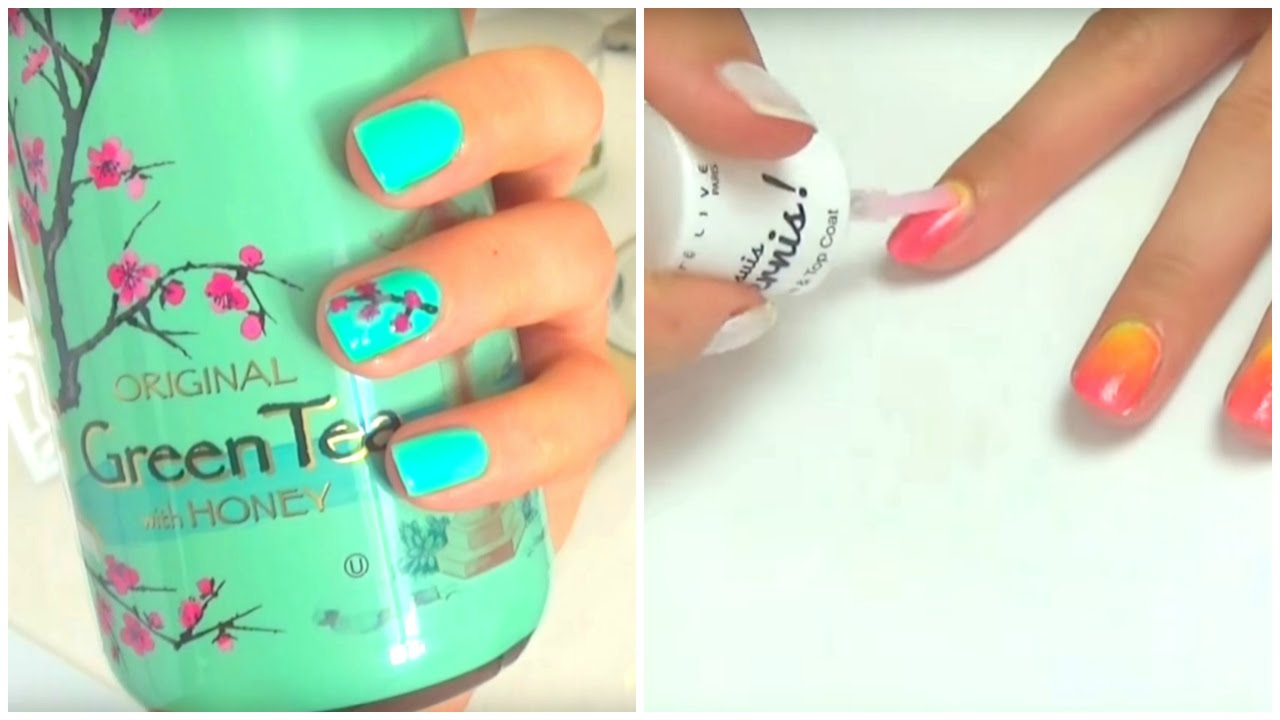 Nail art facile pour l 39 t avec what 39 s up claire youtube - Nail art debutant ...