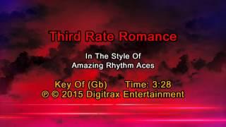 Amazing Rhythm Aces - Third Rate Romance (Backing Track)