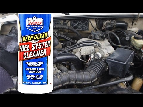 Does Lucas Fuel System Cleaner Actually Work? (with PROOF)