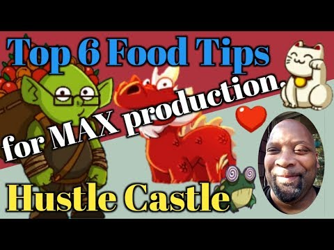 Hustle Castle Top 6 Tips To Maximize Your Food Production. | Book 5 - Chp 36 |