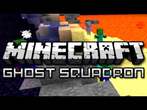 Minecraft: Ghost Squadron w/ Friends Part 1 (Mini Game) |