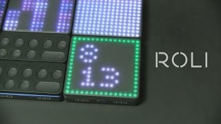 Roli Blocks - миди контроллеры  (Superbooth 2017)
