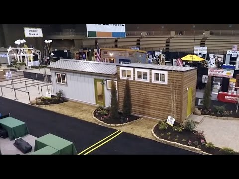 """40' """"Empty Nester"""" Container House With Added Loft"""
