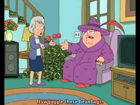 Family Guy - Cloris Leachman
