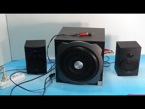 Ремонт акустической системы F&D своими руками