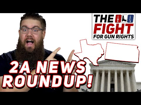 Constitutional Carry in TX, SCOTUS hears 1st Gun Case in YEARS - Fight for Gun Rights!