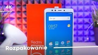 Xiaomi Redmi 5 Rozpakowanie Unboxing [4K]