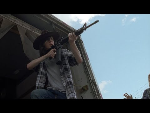 TWD S7E7 - Introduction #2 | Carl kills Saviors as he's spotted