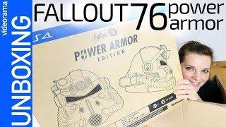 Fallout 76 Power Armor edition unboxing -casco ANTIRRADIACION-