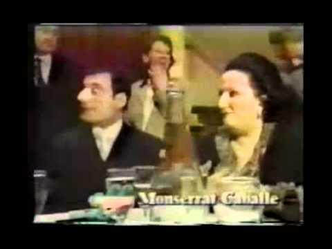Montserat Caballe and Freddie Mercury (rare interview in ...