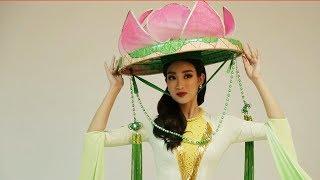 Mỹ Linh duyên dáng trong bộ áo tứ thân mang đậm nét người phụ nữ Việt Nam