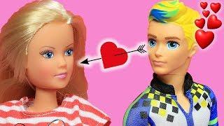 Barbie ve Ailesi Bölüm 160 | Can Aşık Oluyor - Çizgi film tadında Barbie Oyunları