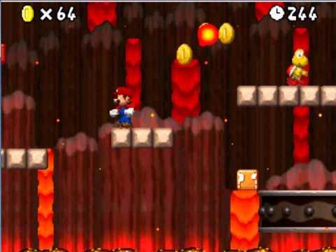 Super Mario Ds Walkthrough World 8 5 Star Coin Youtube