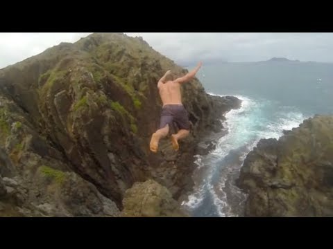 how to cliff jump safely