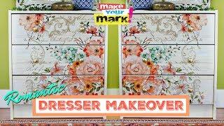 Romantic Dresser Makeover