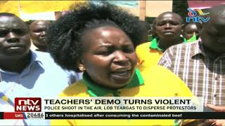 Kericho based teachers protest against unsolved teachers' murders